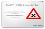 Test CPP - križišče enakovrednih cest