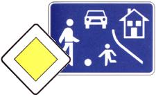 Znaki za obvestila