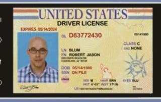 Vozniško dovoljenje na pametnem telefonu