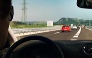 pravilna voznja po avtocesti