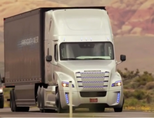 Prvi tovornjak brez voznika