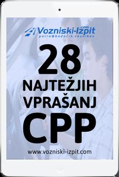 28 najtežjih vprašanj CPP