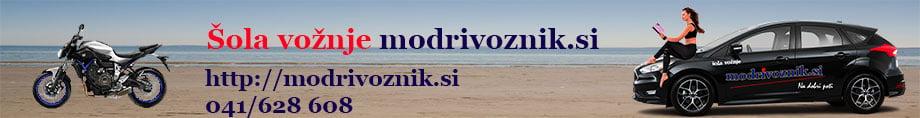 Šola vožnje ModriVoznik.si (Zavod MODRIVOZNIK.SI)