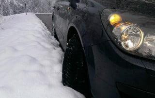 Varna vožnja v zimskih razmerah