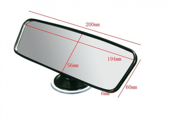 Dimenzije ogledala za vožnjo s spremljevalcem