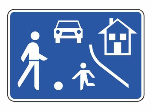 Animiranite test CPP - območje umirjenega prometa