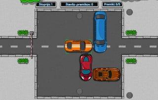 Miselna igra Zmeda na parkirišču - igra za vse generacije